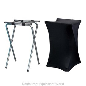 Buffet Enhancements 1BJSSP-WH Tray Stand, Cover