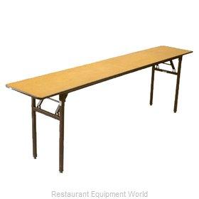 Buffet Enhancements 1BWD130003 Folding Table, Rectangle