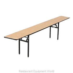 Buffet Enhancements 1BWD130004 Folding Table, Rectangle