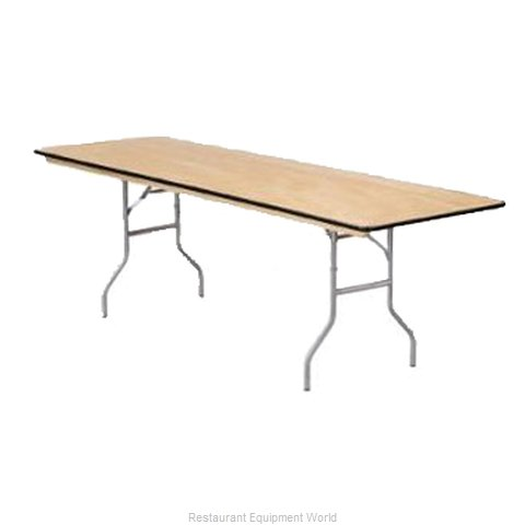 Buffet Enhancements 1BWD130006 Folding Table, Rectangle