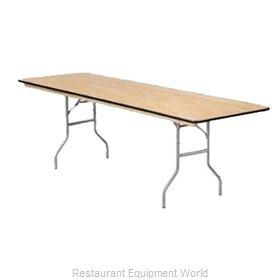 Buffet Enhancements 1BWD130006 Folding Table, Rectangle