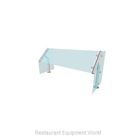 Buffet Enhancements BT151315-48 Sneeze Guard, Stationary