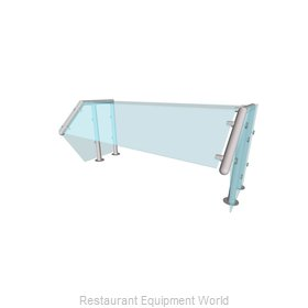 Buffet Enhancements DLQ101312-48 Sneeze Guard, Stationary