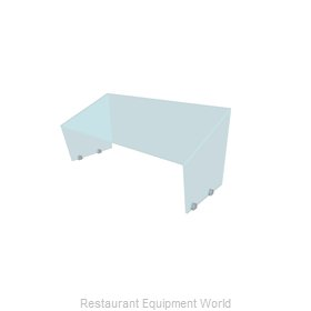Buffet Enhancements PGAF-60 Sneeze Guard, Stationary