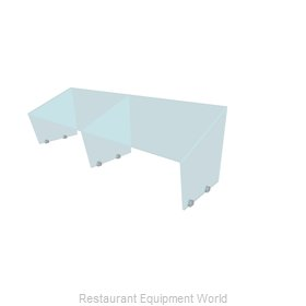 Buffet Enhancements PGAF-72 Sneeze Guard, Stationary