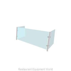 Buffet Enhancements WFAQ1512-48 Sneeze Guard, Stationary