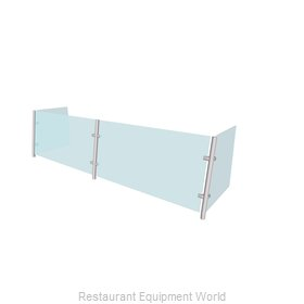 Buffet Enhancements WFAQ1512-96 Sneeze Guard, Stationary