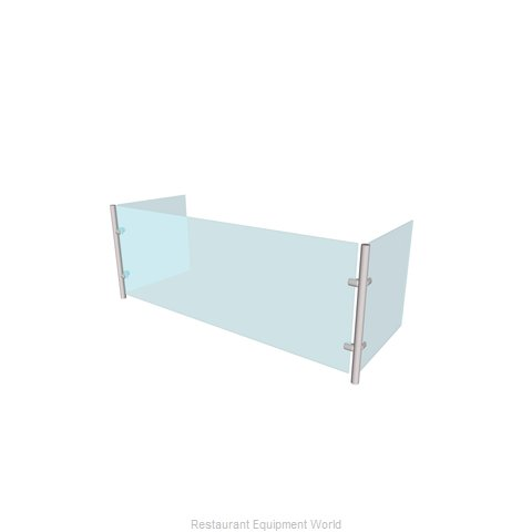Buffet Enhancements WFQ1012-48 Sneeze Guard, Stationary