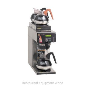 Bunn-O-Matic AXIOM-15-3-0000 Coffee Brewer for Glass Decanters