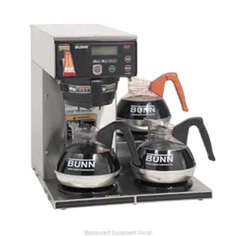 Bunn-O-Matic AXIOM-15-3-0002 Coffee Brewer for Glass Decanters