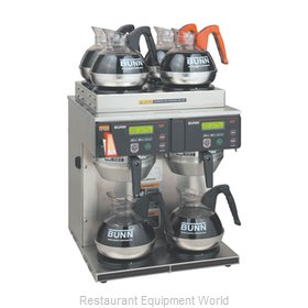 Bunn-O-Matic AXIOM-4/2-0014 Coffee Brewer for Glass Decanters