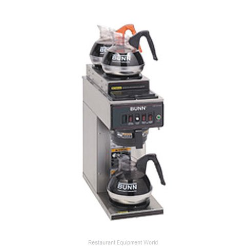 Bunn-O-Matic CWT15-3-0356 Coffee Brewer for Glass Decanters