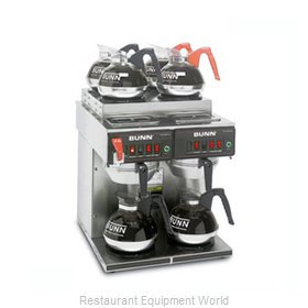 Bunn-O-Matic CWTF-4/2-0011 Coffee Brewer for Glass Decanters