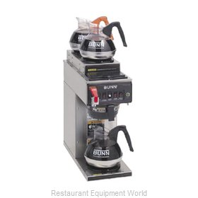 Bunn-O-Matic CWTF-DV-3-0410 Coffee Brewer for Glass Decanters