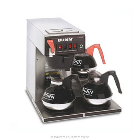 Bunn-O-Matic CWTF15-3-0212 Coffee Brewer for Glass Decanters