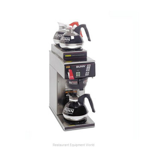 Bunn-O-Matic CWTF15-3-0213 Coffee Brewer for Glass Decanters