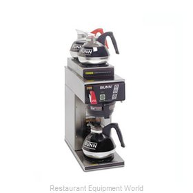 Bunn-O-Matic CWTF15-3-0217 Coffee Brewer for Glass Decanters