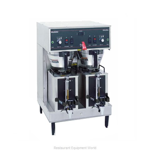 Bunn-O-Matic DUAL-0008 Double Brewer With Portable Server