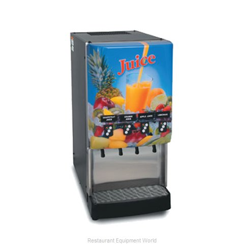 Bunn-O-Matic JDF-4S-0023 Cold Beverage Dispenser Elec Concentrate