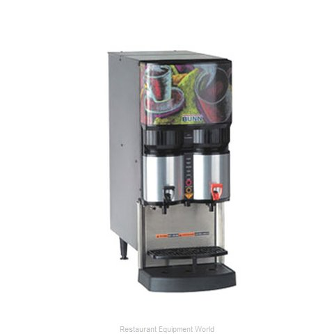 Bunn-O-Matic LCA-2-PC-0003 Beverage Dispenser Electric Hot (Magnified)