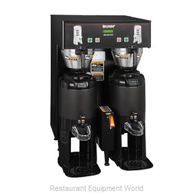 Bunn-O-Matic TF-DUAL-DBC-0005 Coffee Brewer for Thermal Server