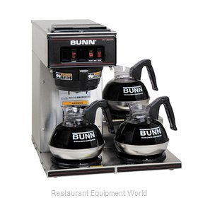 Bunn-O-Matic VP17-3-0003 Low Profile Pourover Brewer