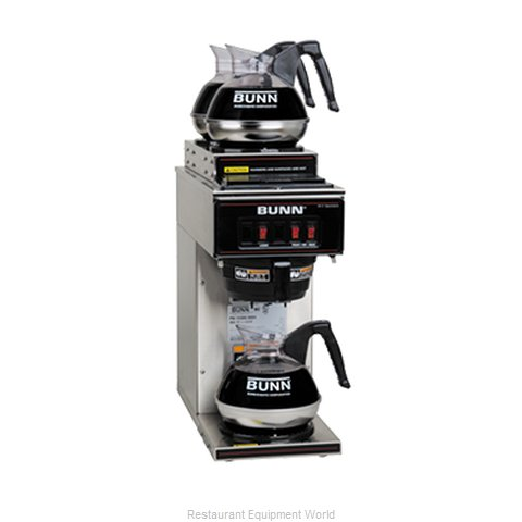 Bunn-O-Matic VP17-3-0004 Slimline Pour-Over Brewer - 3 Burner