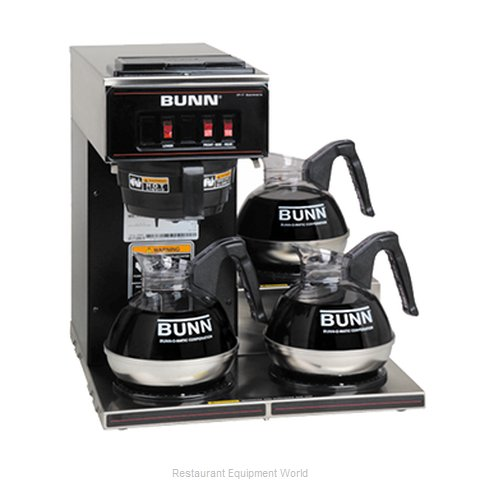 Bunn-O-Matic VP17-3-0013 Low Profile Pourover Brewer