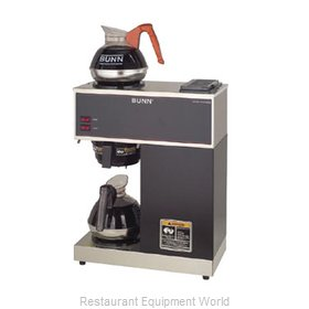 Bunn-O-Matic VPR-0002 Coffee Brewer for Glass Decanters