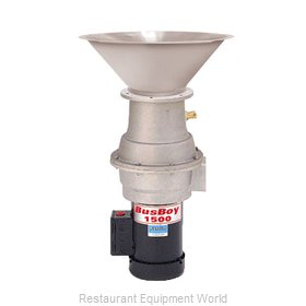 BusBoy by Nemco B1000-CM-BRS-P Disposer