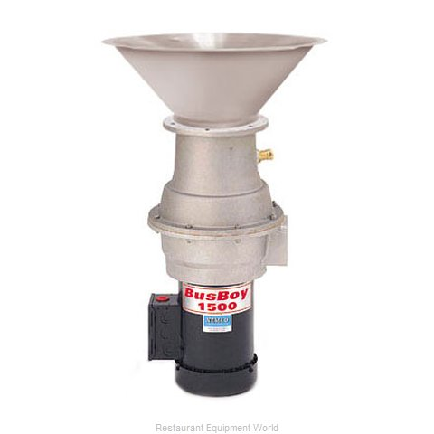 BusBoy by Nemco B1500-CM-MBR-P Disposer