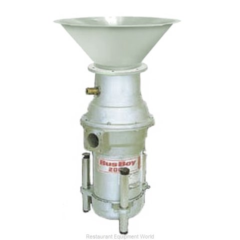 BusBoy by Nemco B2000-CM-BRS-P Disposer