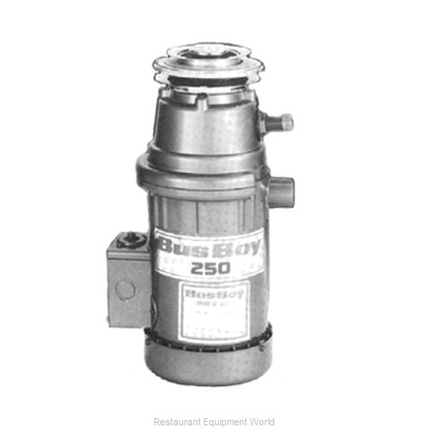 BusBoy by Nemco B250-SM-MC Disposer (Magnified)