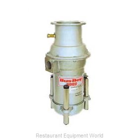 BusBoy by Nemco B3000-SM-BRS-P Disposer
