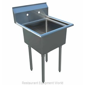 Bev Les Company BWS184121 Sink, (1) One Compartment