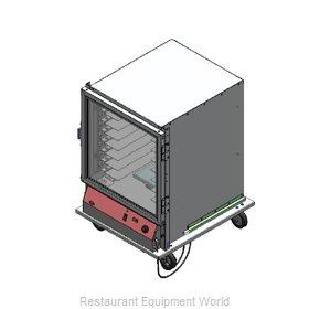Bev Les Company PICA44-16-A-1L1 Proofer Cabinet, Mobile, Half-Height