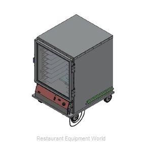 Bev Les Company PICA44-16INS-A-1L1 Proofer Cabinet, Mobile, Half-Height