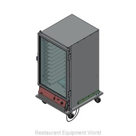 Bev Les Company PICA60-24-A-4R1 Proofer Cabinet, Mobile