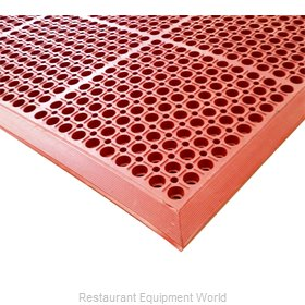 Cactus Mat 4420-RSWB Floor Mat, Anti-Fatigue