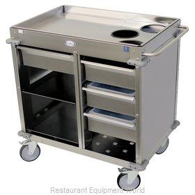 Cadco BC-4-LST Cart, Beverage