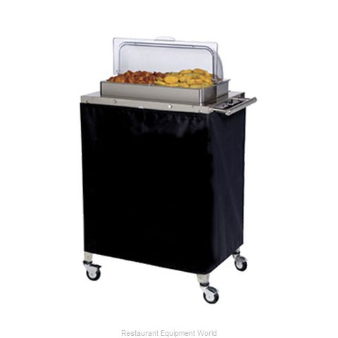Cadco CBC-2RT Mobile Buffet Warming Carts