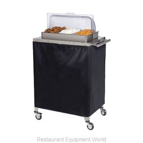 Cadco CBC-3RT Mobile Buffet Warming Carts