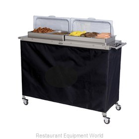 Cadco CBC-5RT Mobile Buffet Warming Carts