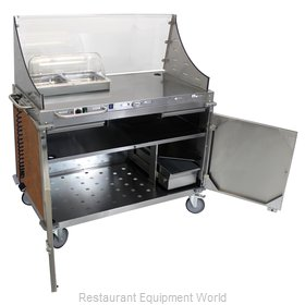 Cadco CBC-DC-L1-D Serving Counter, Hot Food, Electric