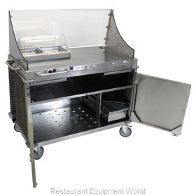 Cadco CBC-DC-L3-D Serving Counter, Hot Food, Electric
