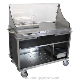 Cadco CBC-DC-L3 Serving Counter, Hot Food, Electric