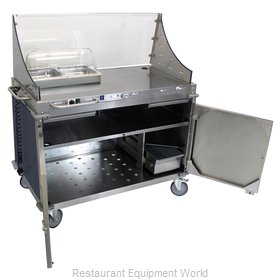Cadco CBC-DC-L4-D Serving Counter, Hot Food, Electric
