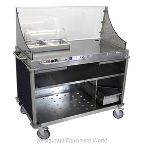 Cadco CBC-DC-L4 Serving Counter, Hot Food, Electric
