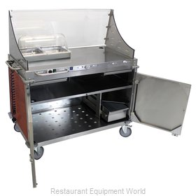 Cadco CBC-DC-L5-D Serving Counter, Hot Food, Electric