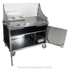 Cadco CBC-DC-L6-D Serving Counter, Hot Food, Electric